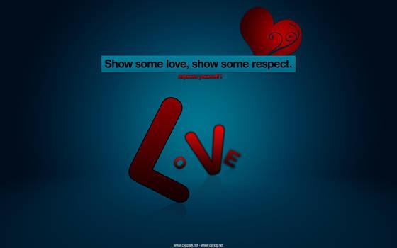 Love - desktop background