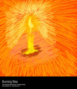 Burning Wax