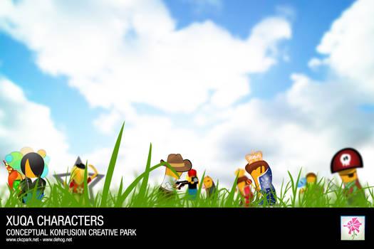 Xuqa Characters