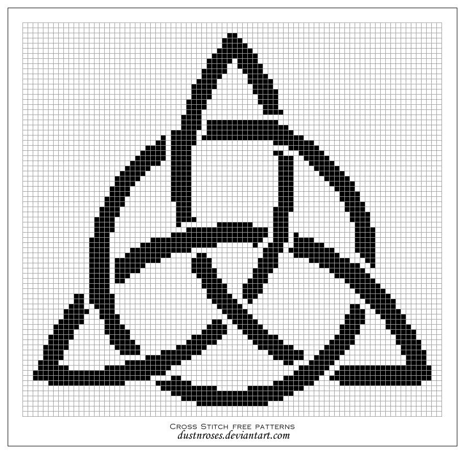Celtic Trinity Knot Knitting Pattern : Free pattern: triquetra by dustnroses on DeviantArt
