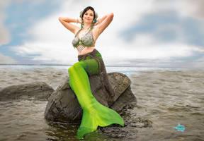 Pinup Mermaid by MermaidMargo