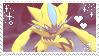 Zeraora stamp [F2U] by Raysonic01