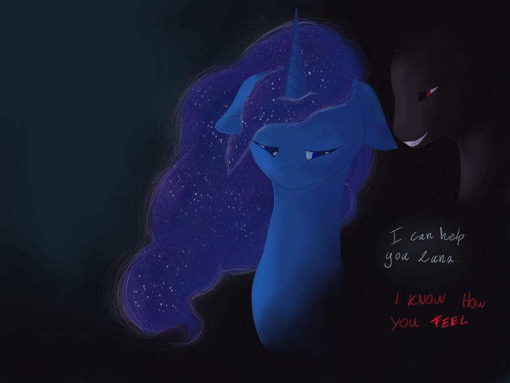 Luna's darkness  by IAmALonelyCat