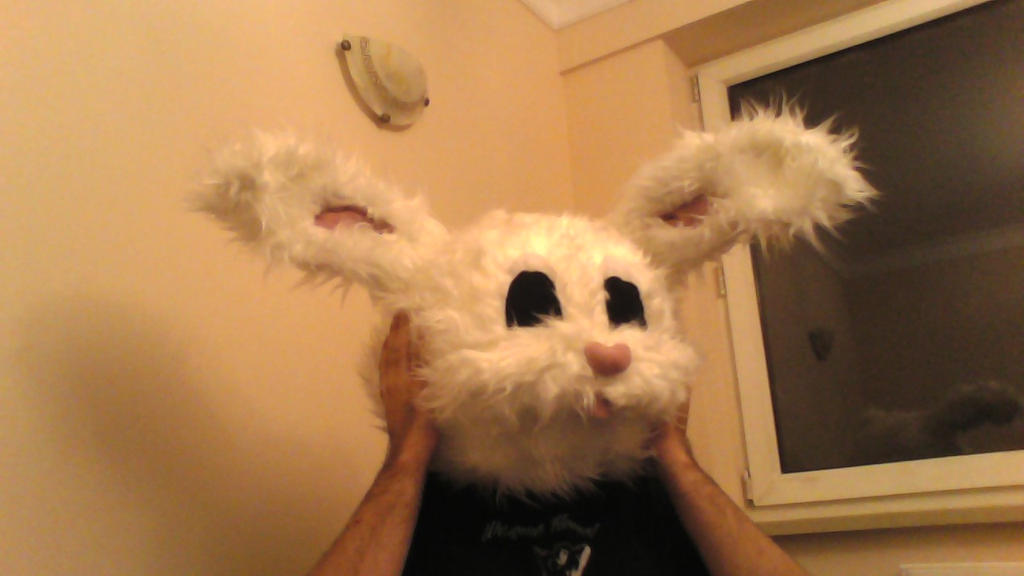 Bunny head (Tainted love inspired) by Molot