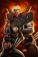 X-Force_Cable: Messiah War by reau
