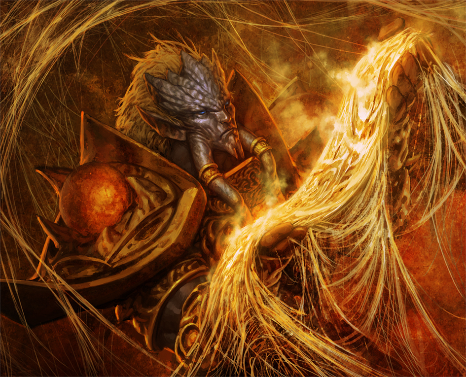 World of Warcraft: Draenei by reau