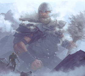 The Stone Giant by reau