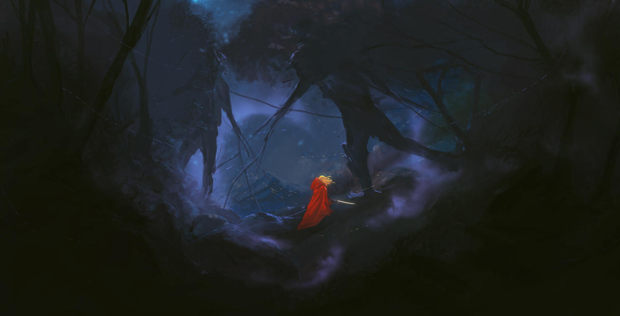Into The Woods by reau