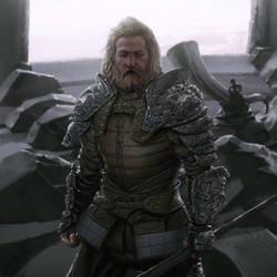 The Warden of Helms Deep by reau