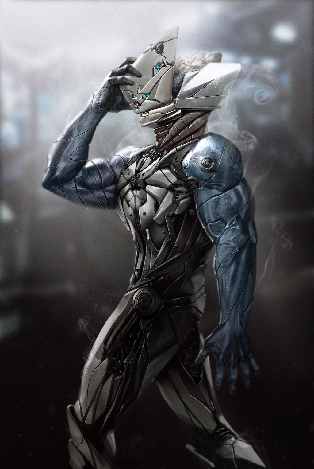 Birth of a Cyborg by reau