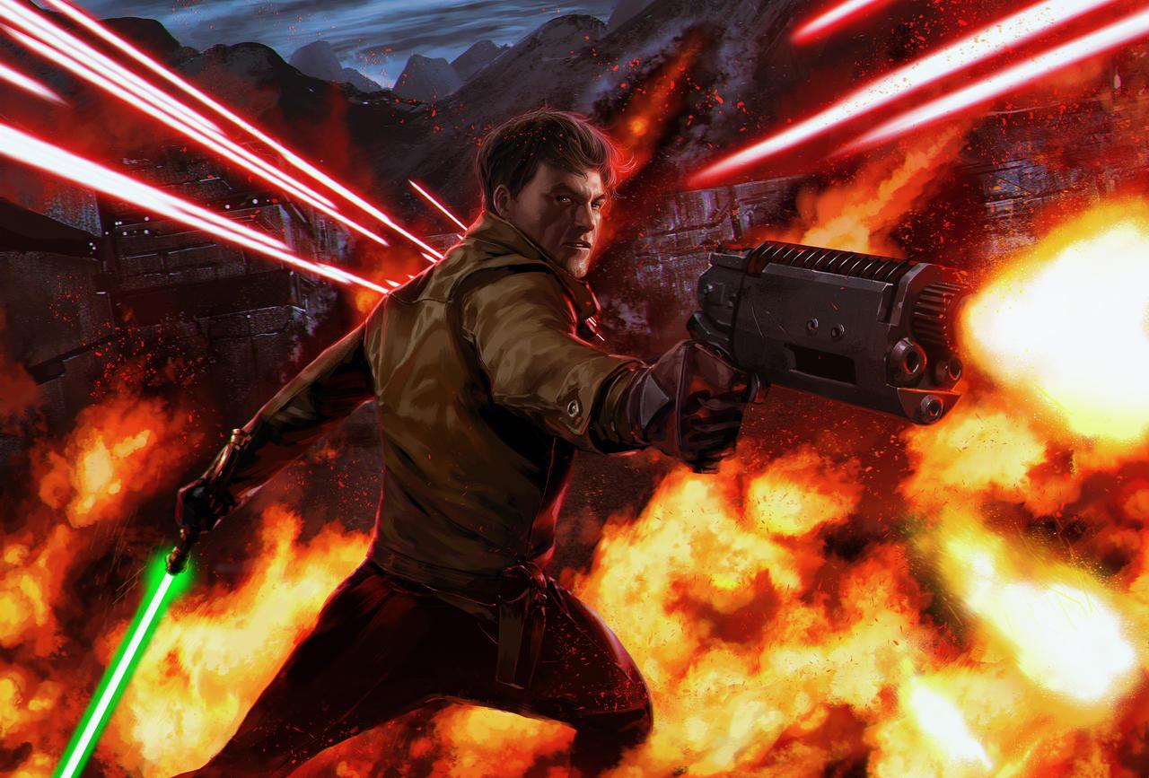 Star Wars - Kyle Katarn by reau
