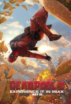Deadpool2 Jarreau IMAX Poster