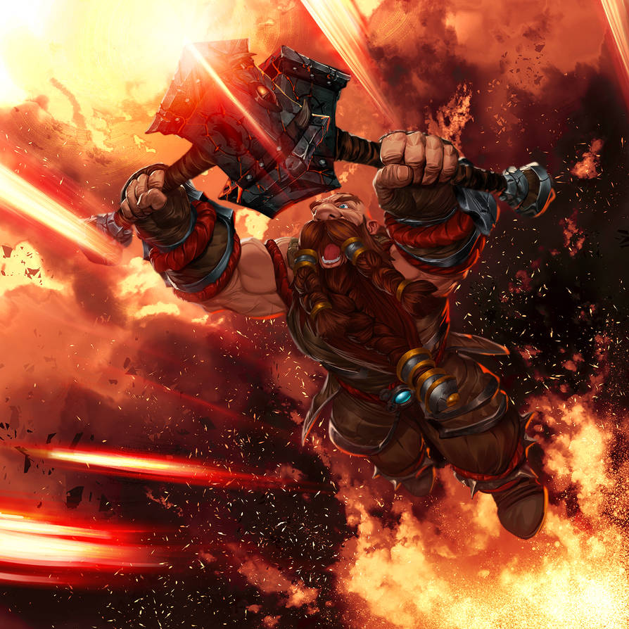 Doomhammer - World of Warcraft by reau