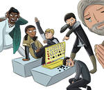 Detroit Become Human Draw the Squad Connect Four