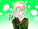 APH: 'Flying Mint Bunny!:D'