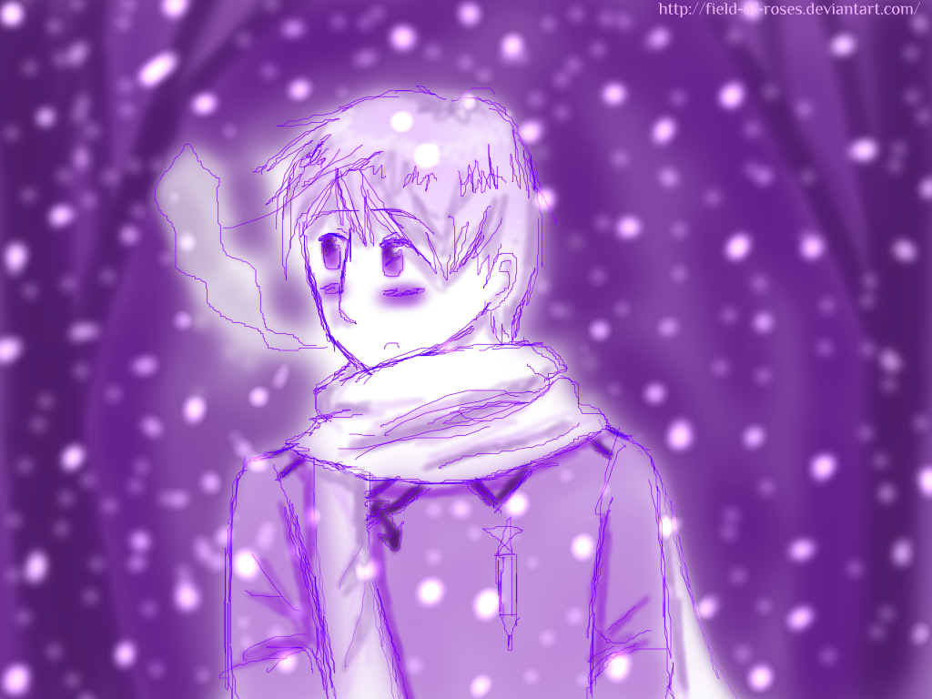 APH: Purple Winter by Field-Of-Roses