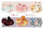 [5/6 OPEN] Set Price | adopt - Fluffy bird by natsu20202991