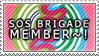 SOS Brigade Member Stamp by xMandaChanStampsx