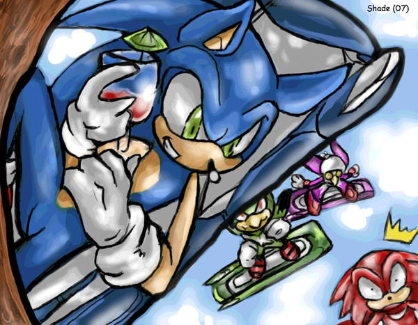 Sonic riders by f-sonic