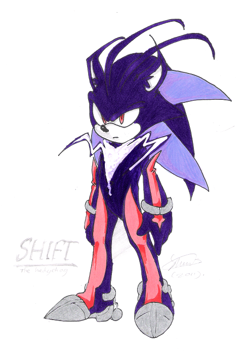 Shift_the hedgehog by f-sonic