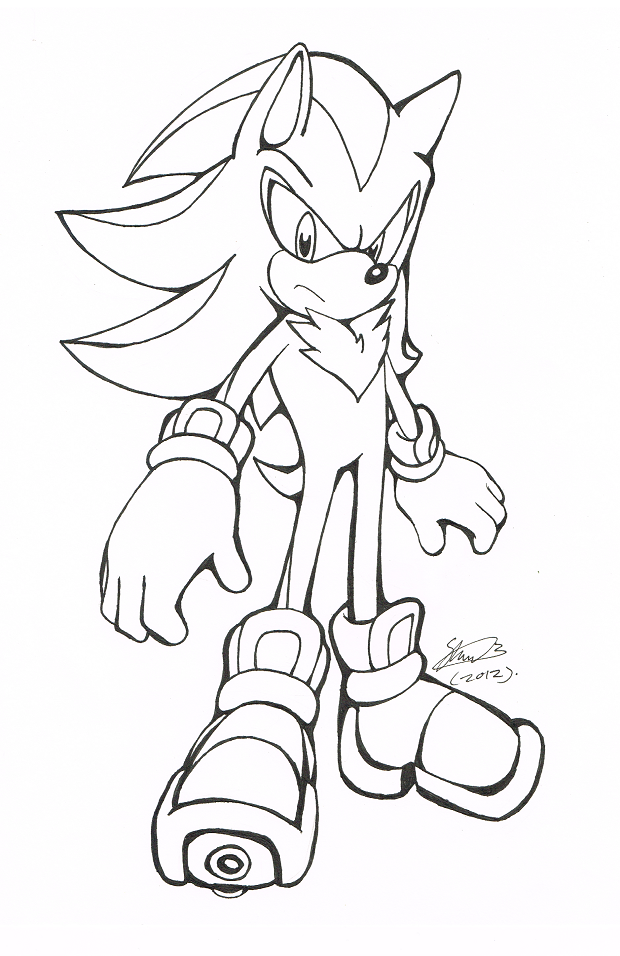 ShadowBW by fsonic on DeviantArt