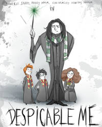 Despicable Snape by LordSiverius