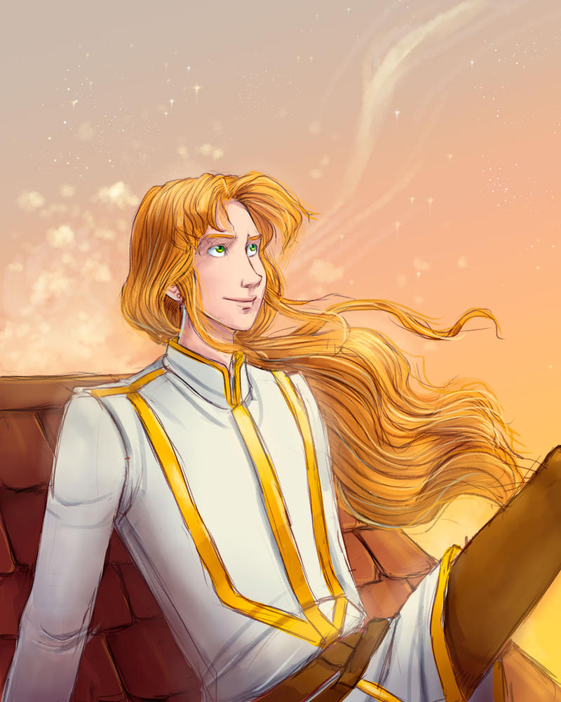 Golden Millenum Zoisite by LordSiverius