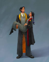 Coco:  Hogwarts students