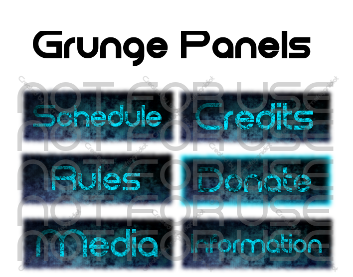 How to add links on twitch panels
