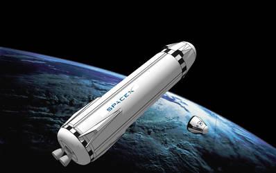Mars colonial Transporter, image B