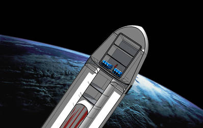 Mars colonial Transporter, image C