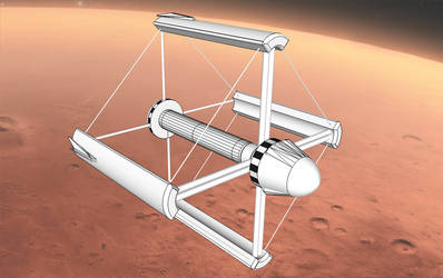 Mars colonial Transporter, image D