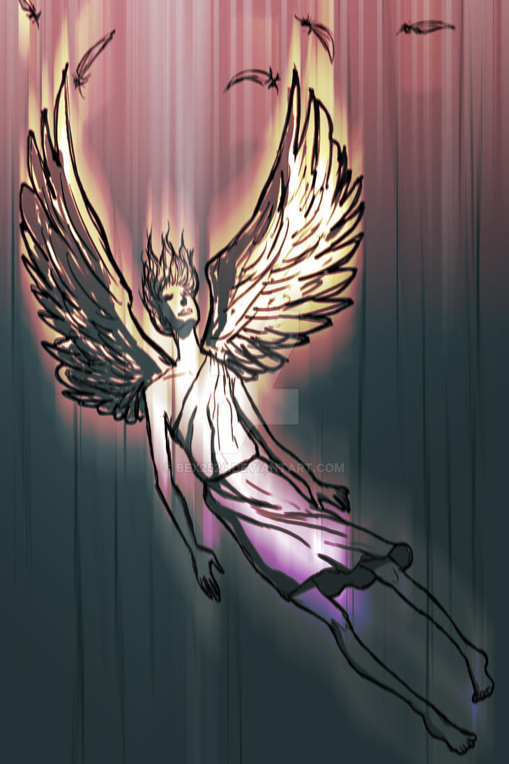 Falling Angel by bex2524