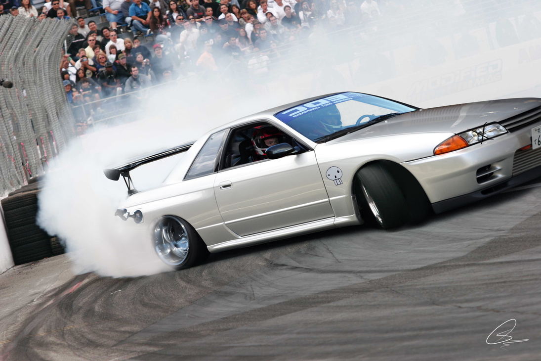Nissan Skyline R32 Drift By JackinaboxDesign