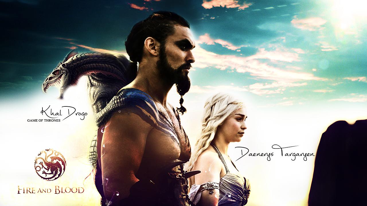 Khal Drogo - Daenerys Targaryen (V2) by Freedom4Arts