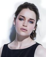 Emilia Clarke - Daenerys Targaryen by Freedom4Arts