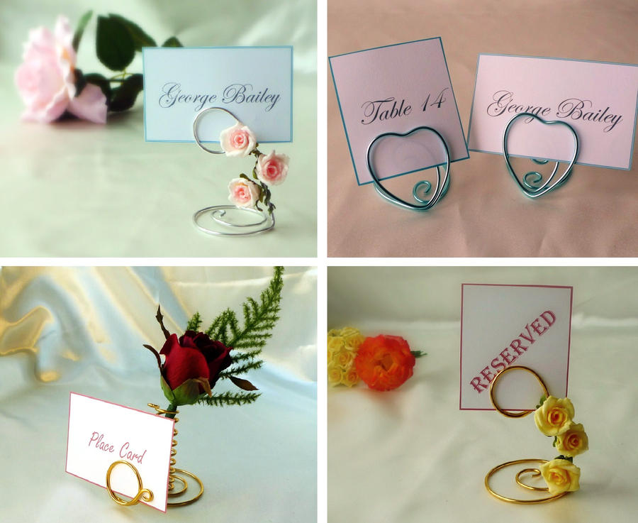 Wedding Name Cards By SuzArmstrong93 On DeviantArt