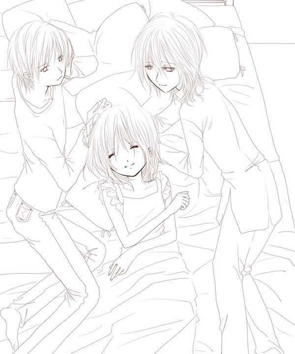 Kaname + Yuuki + Zero free pic by Sagakure