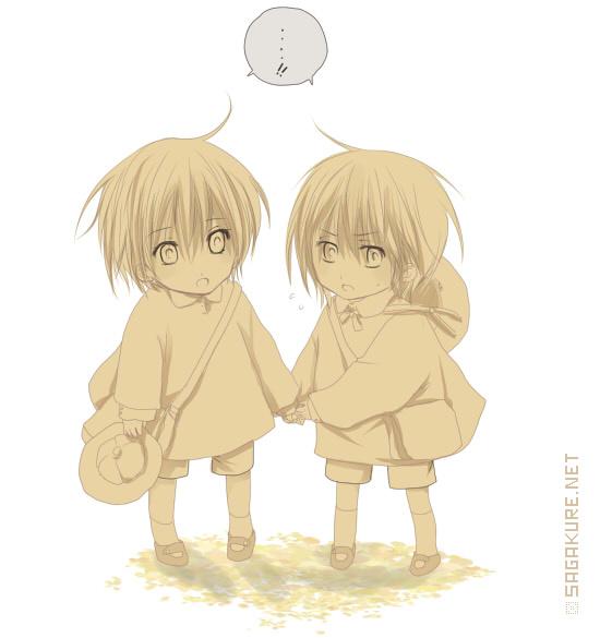 Kiryuu twins in kindergarten by Sagakure on DeviantArt