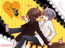 Pocky Love: ft Raisin-Mucchin by Sagakure