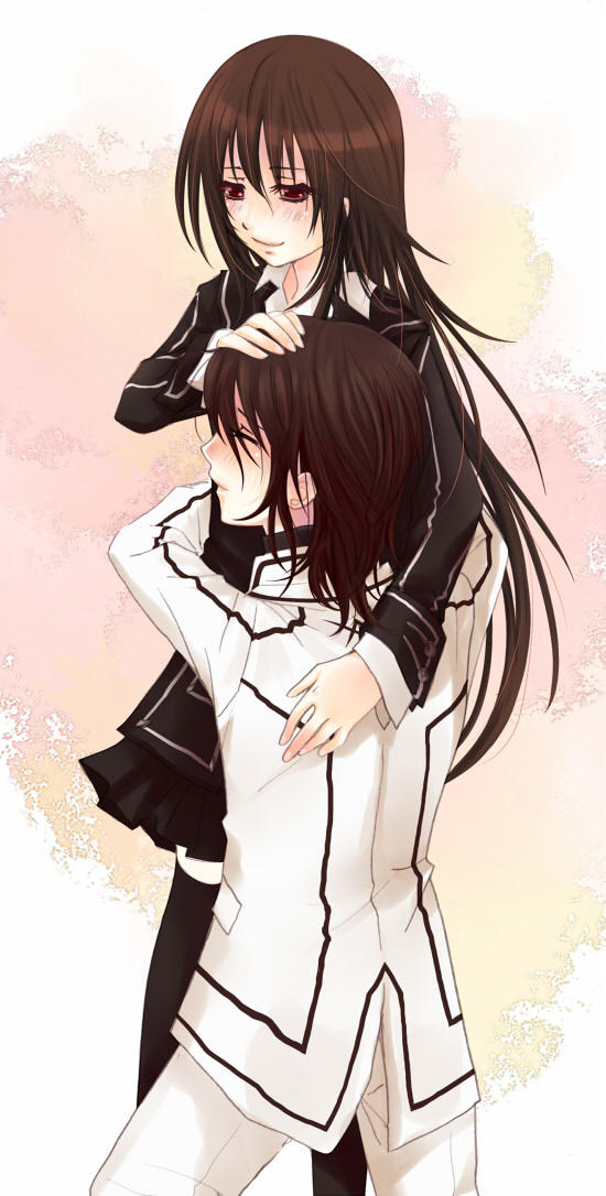 Yuuki x Kaname hug