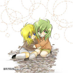 Shun + Hyoga - Children by Sagakure