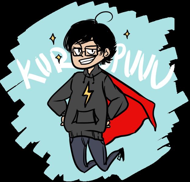 SUPER KURO TO THE RESCUE by kuropuuu