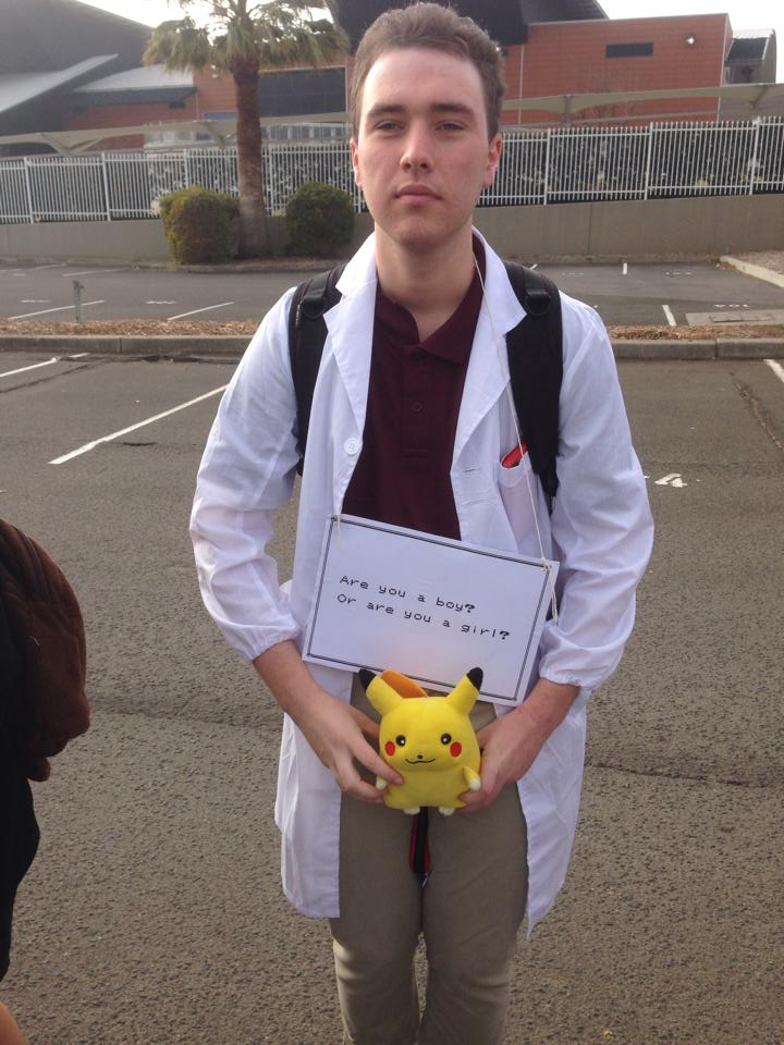 Professor Oak cosplay - SMASH 2014 by darkstormcosplay