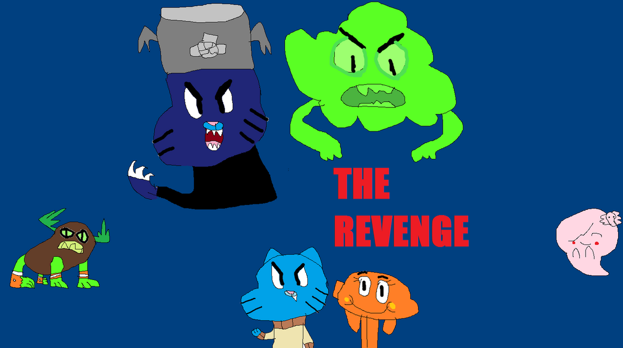 The Amazing World of Gumball The Revenge by HitmonchanMan