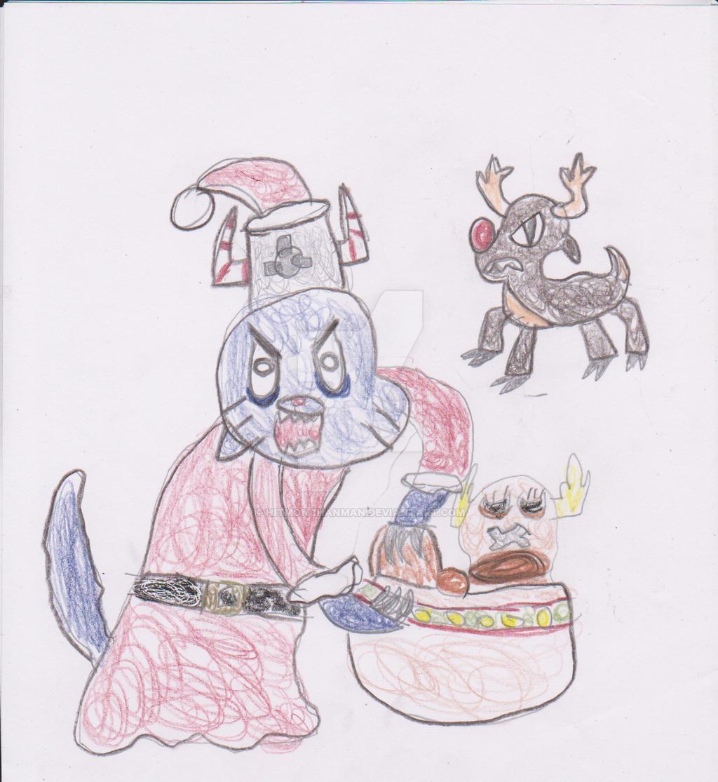 A Dark Gumball Christmas by HitmonchanMan on DeviantArt