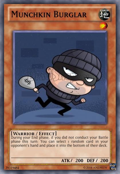 Munchkin Burglar by HitmonchanMan