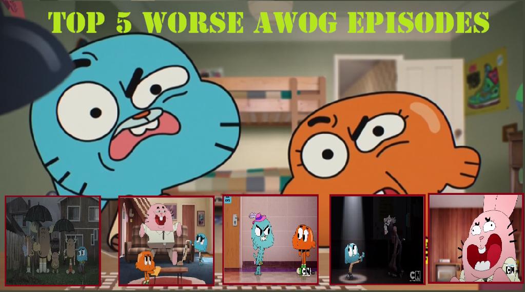 My Top 5 Worse AWOG Season 1 Episodes by HitmonchanMan on ... | 1023 x 568 png 684kB