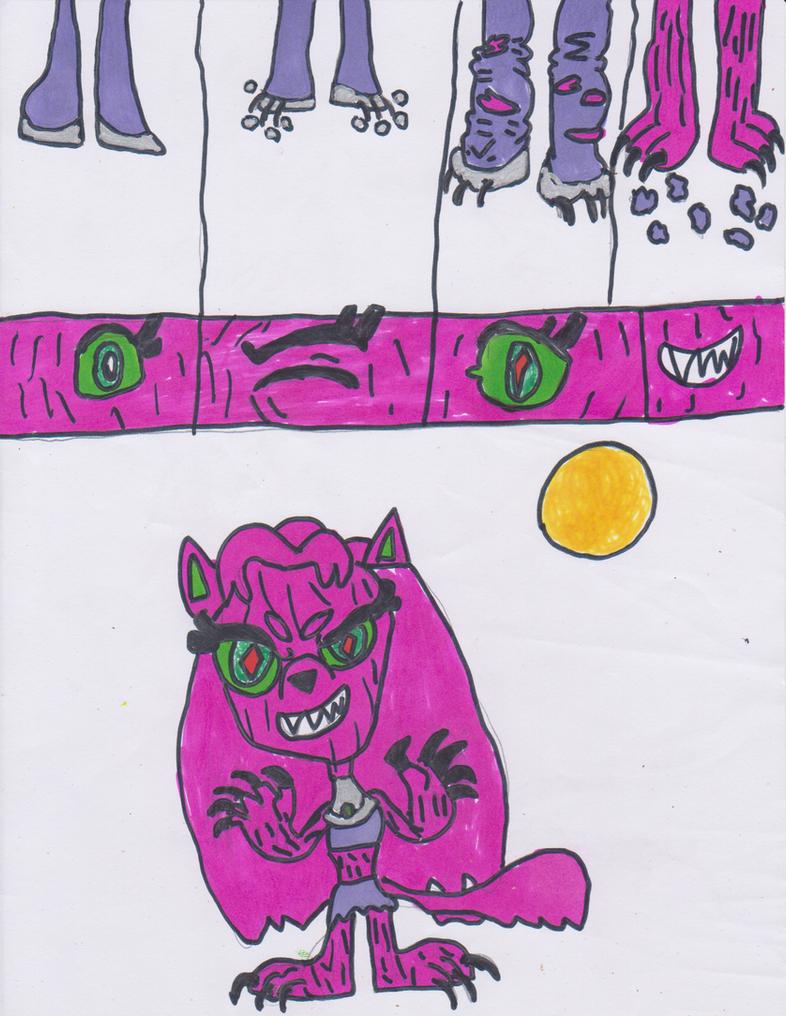 Luna Loud Werewolf Transformation Part 1 by HitmonchanMan on DeviantArt