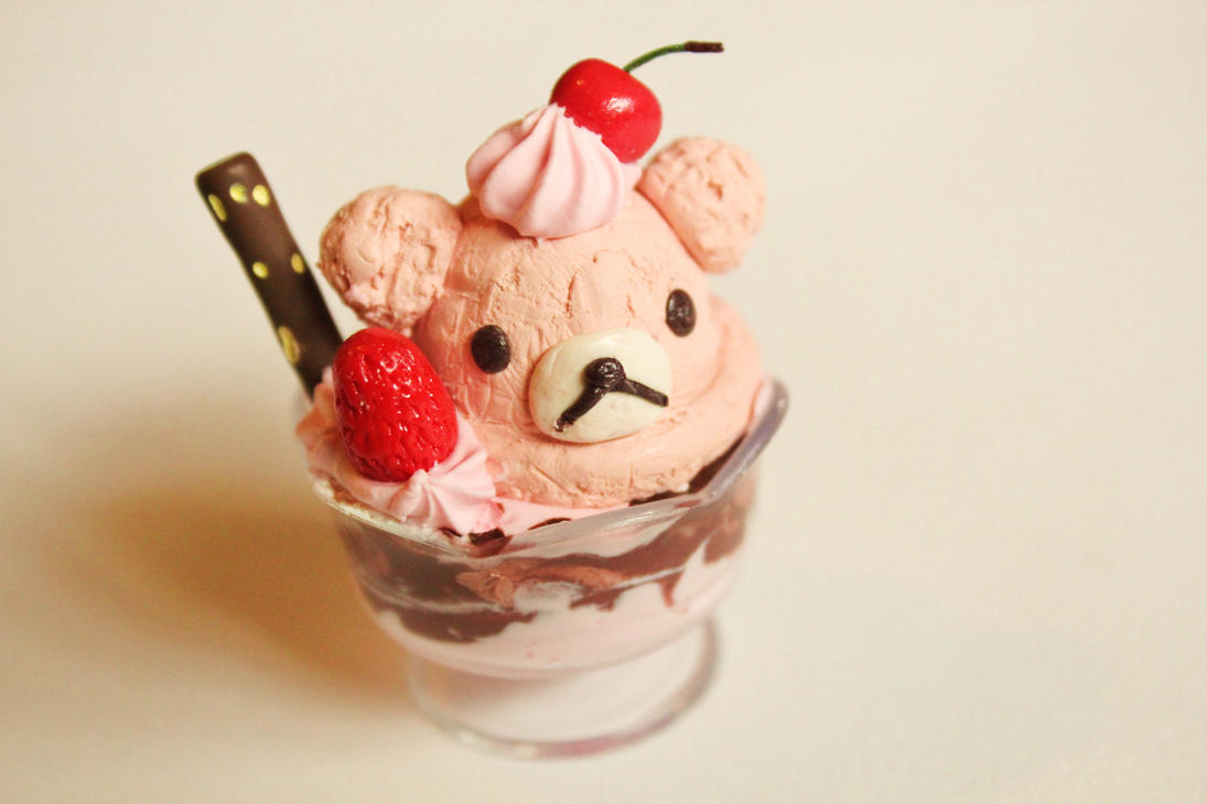 Rilakkuma sundae by pastelaholic on deviantart - Ice cream sundae wallpaper ...